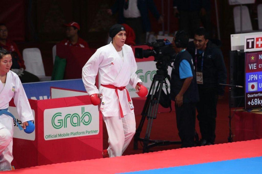 حمیده عباسعلی در المپیک