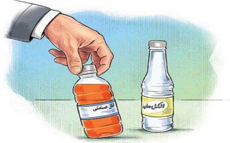 استفاده از الکل صنعتی برای ضدعفونی