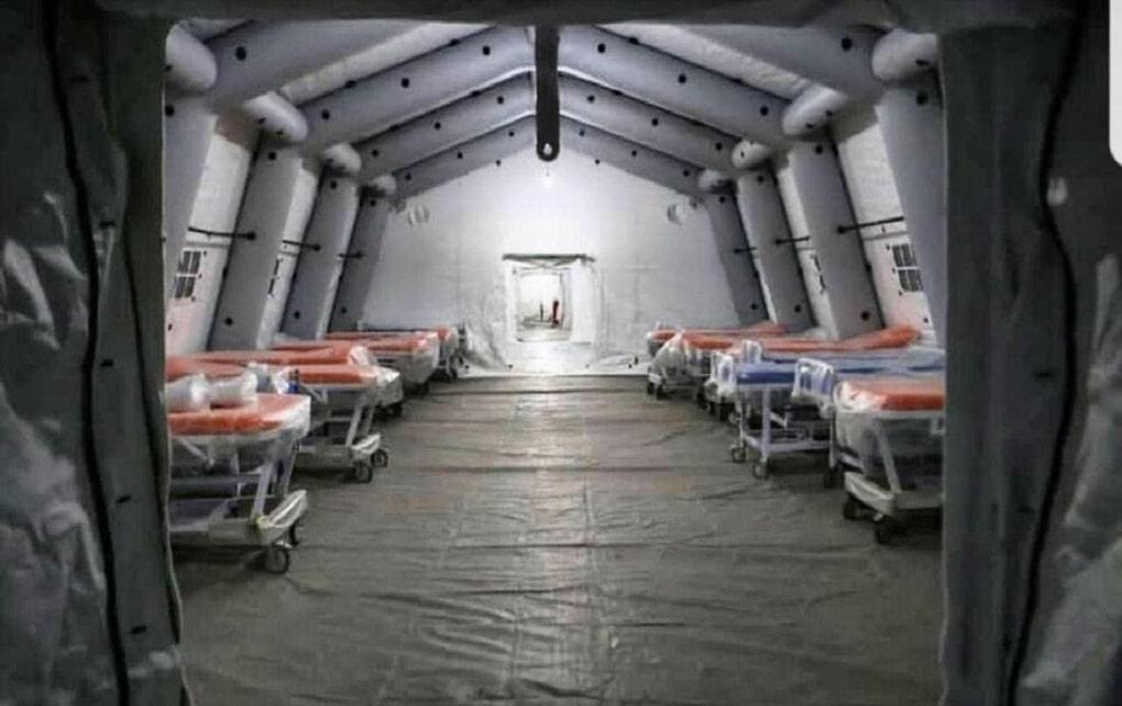 تأسیس بیمارستان صحرایی نیاز فوری استان مازندران