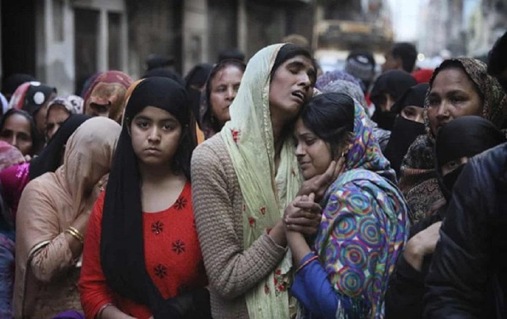 زجرکُش کردن مسلمانان به دست هندوها در دهلینو