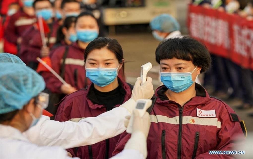 آمار ابتلا به کرونا در چین