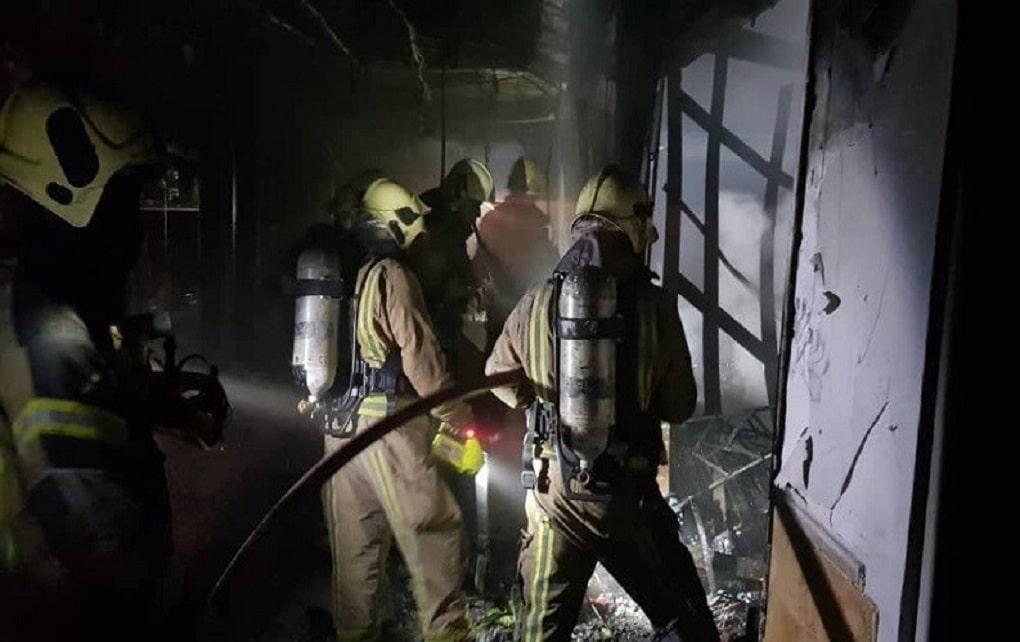 آتشسوزی در بازارچه سنتی ستارخان