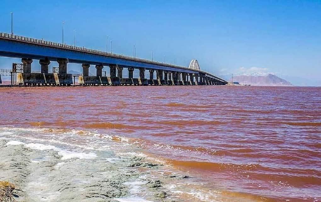 افزایش ۳۶ سانتی متری تراز دریاچه ارومیه