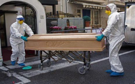 قربانیان کرونا در ایتالیا