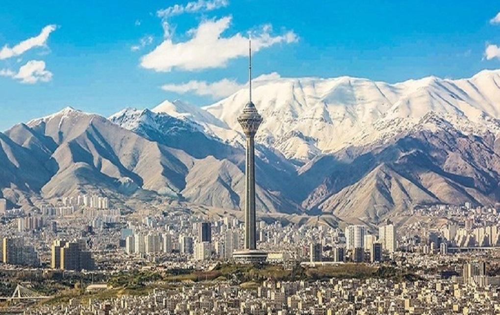 افزایش دمای تهران