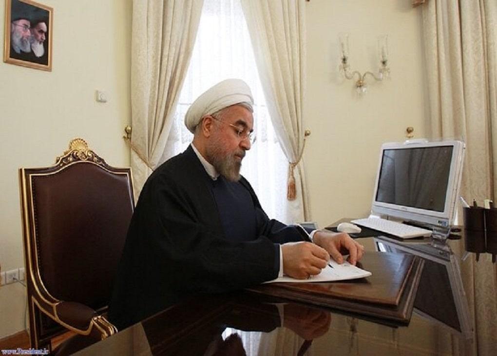 نامه قدردانی رئیسجمهور از مقام معظم رهبری