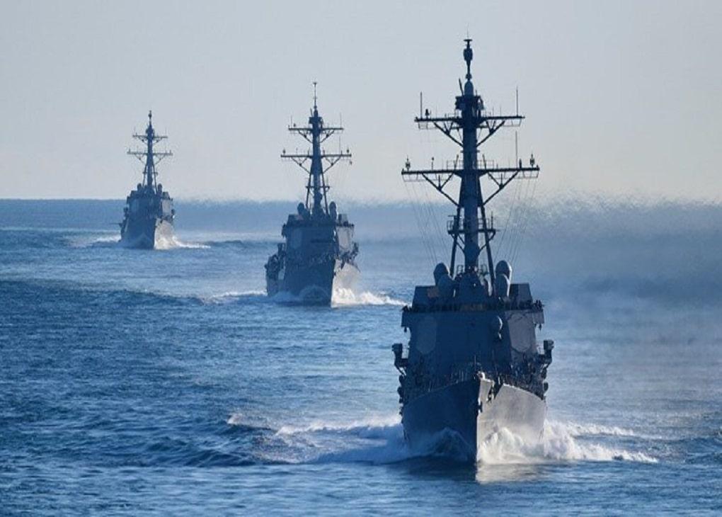 تقابل ۱۱ شناور نظامی ایران با کشتیهای نظامی آمریکایی