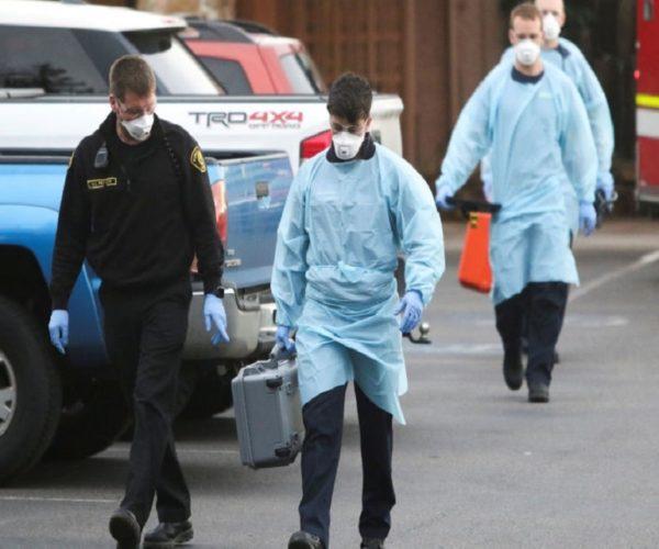 تلفات ویروس کرونا در آمریکا