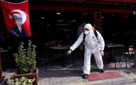 تعداد مبتلایان به کرونا در ترکیه