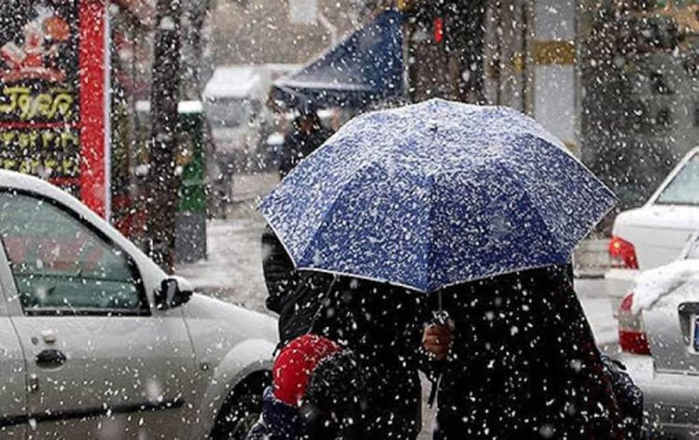 بارندگی در تهران و شش استان