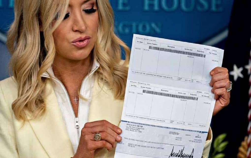 جزئیات حساب بانکی شخصی ترامپ