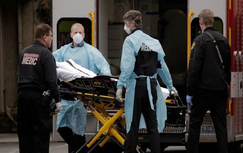 تلفات کرونا در آمریکا