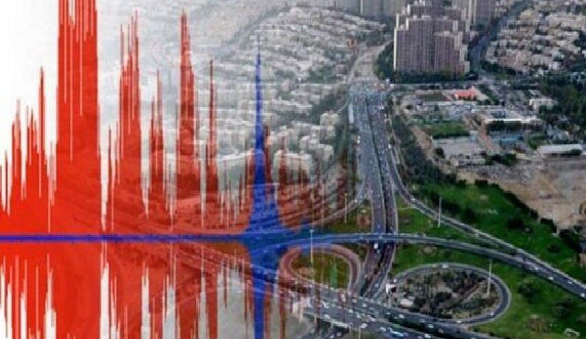 لحظاتی پیش زلزله تهران را لرزاند
