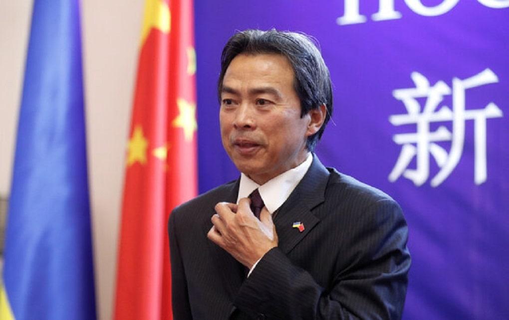 جسد سفیر چین