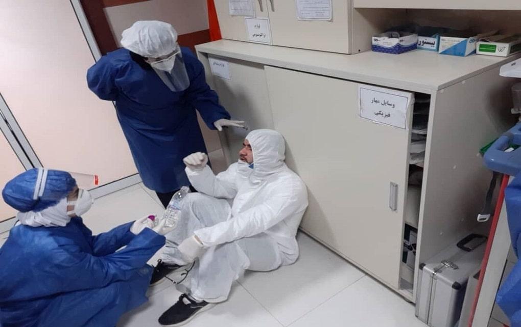 ابتلای ۷۹۲ نفر از کادر درمانی کشور به کرونا