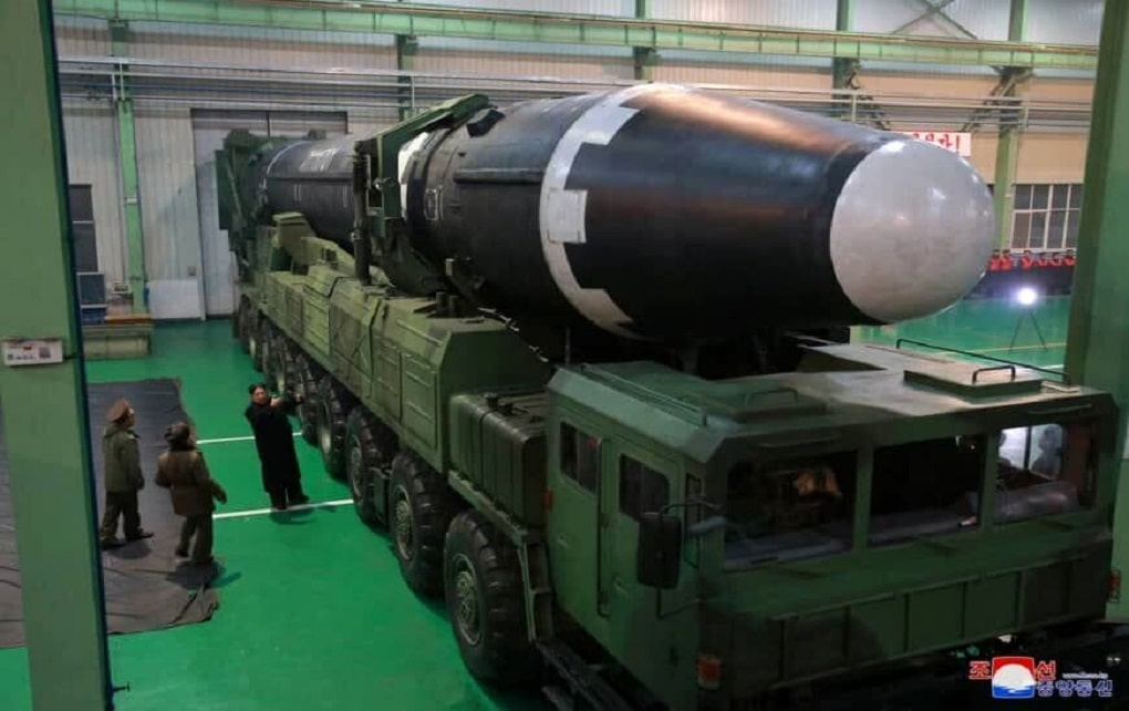 کره شمالی موشک های بالستیک قاره پیما ساخت