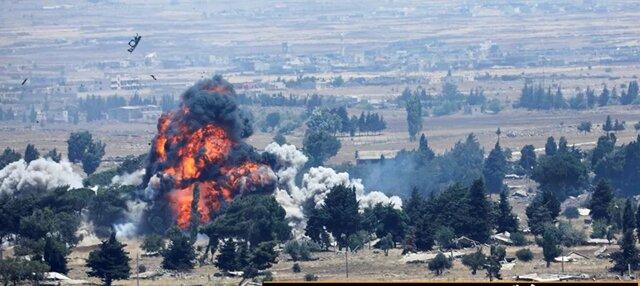 حمله تروریستی به اتوبوس نظامی سوریه در حومه درعا