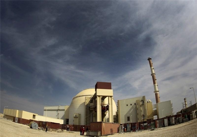 تولید انرژی الکتریکی نیروگاه اتمی بوشهر