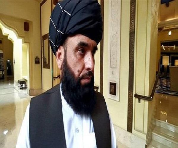 سهیل شاهین مدعی دیدار نماینده ظریف با معاون سیاسی طالبان شد