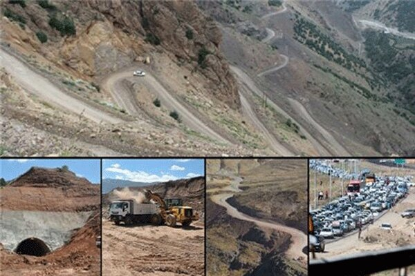 راه اندازی جاده قزوین تنکابن