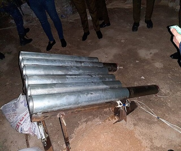 حمله موشکی به منطقه سبز بغداد