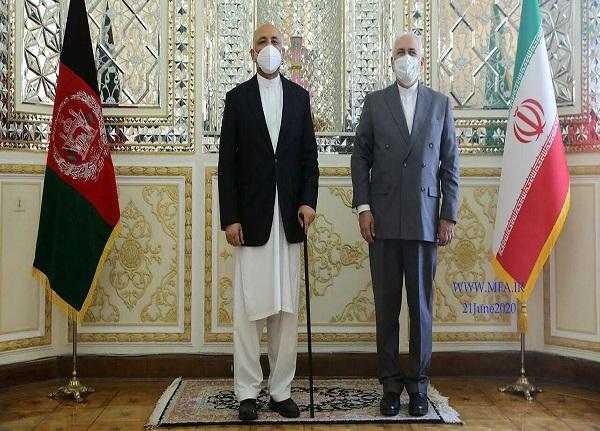 وزرای امور خارجه ایران و افغانستان