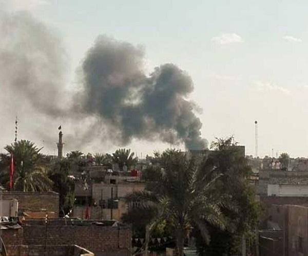 اصابت راکت به منطقه سبز بغداد | عمل نکردن سامانه پاتریوت در دفع این راکت