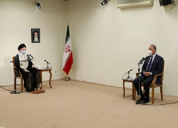 دیدار رهبر انقلاب با مصطفی الکاظمی   ایران ضربه متقابل به آمریکا خواهد زد