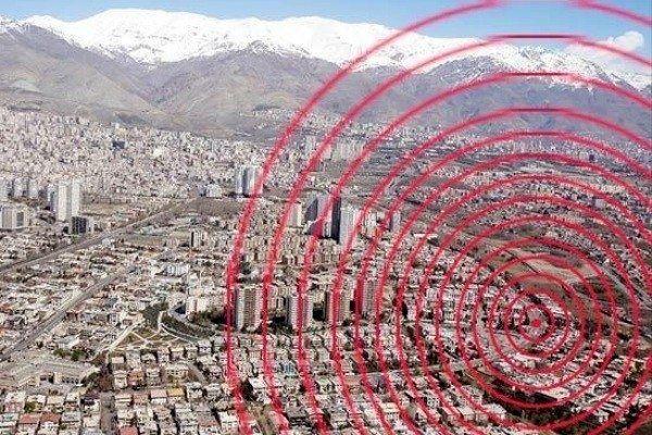 زمینلرزه فیروزکوه استان تهران