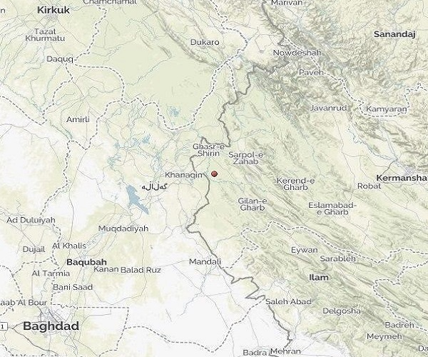 زلزله ۴/۴ ریشتری حوالی قصر شیرین کرمانشاه را لرزاند