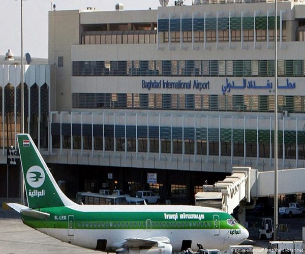 اصابت راکت کاتیوشا به اطراف فرودگاه بینالمللی بغداد