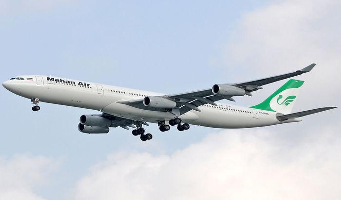 تهدید هواپیمای مسافربری ماهان توسط دو جنگنده مهاجم در آسمان سوریه