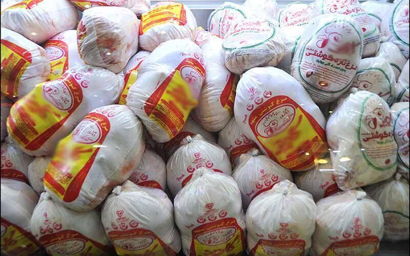 عرضه ۱۰ هزار تن مرغ منجمد