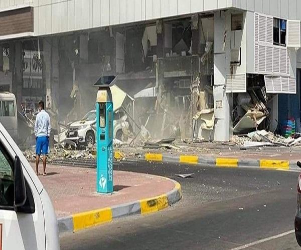 انفجار در دبی