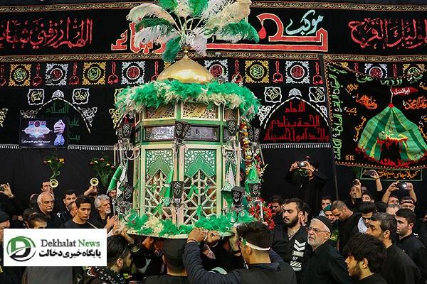 نگاهی به مراسم عاشورا در بازار تهران