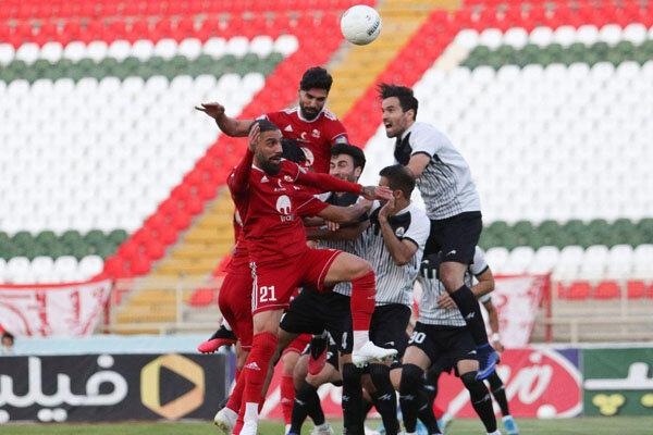 تراکتور نخستین فینالیست جام حذفی شد | بازی تراکتور و نفت مسجدسلیمان