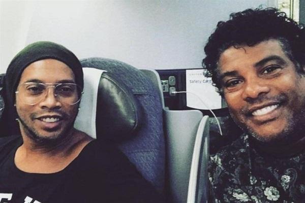 رونالدینیو پس از  ۵ ماه حبس در پاراگوئه آزاد شد