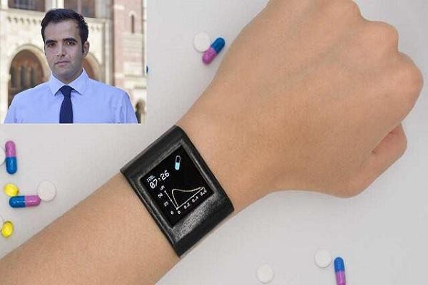 ردیابی داروها در بدن با کمک یک ساعت هوشمند