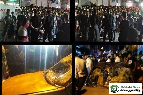 زیرگرفتن عزاداران حسینی در دو نقطه از شهر قدس توسط راننده مست