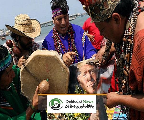پیش بینی جادوگران پرویی برای انتخابات ریاست جمهوری آمریکا + فیلم