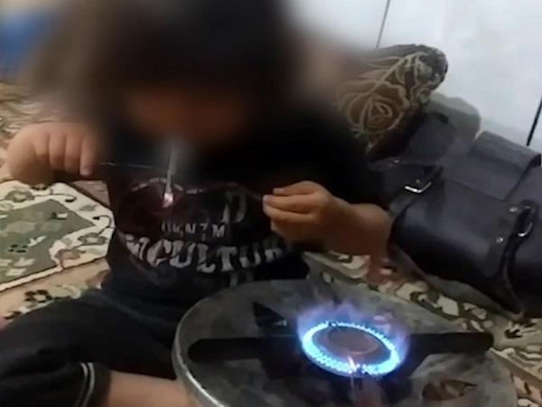 دستگیری عامل انتشار فیلم وادار کردن کودک به مصرف موادمخدر + فیلم