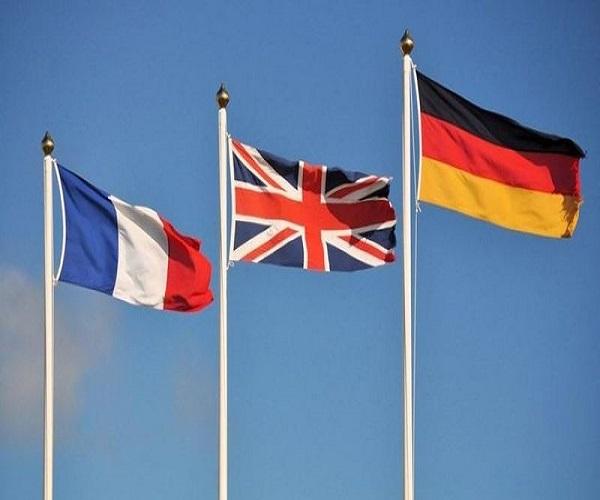 بیانیه مشترک وزرای خارجه تروئیکای اروپایی | واکنش تروئیکای اروپا به ادعای آمریکا