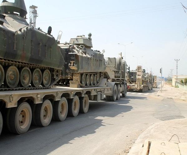 ارسال تجهیزات نظامی ترکیه به یونان