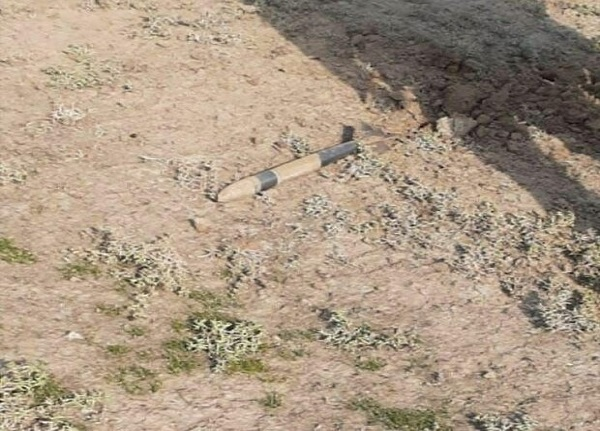 اصابت خمپاره به روستای خلفبیگلو
