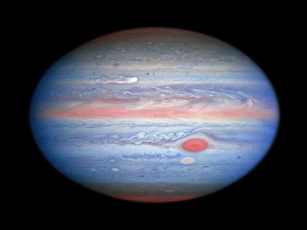 جدیدترین تصاویر سیاره مشتری