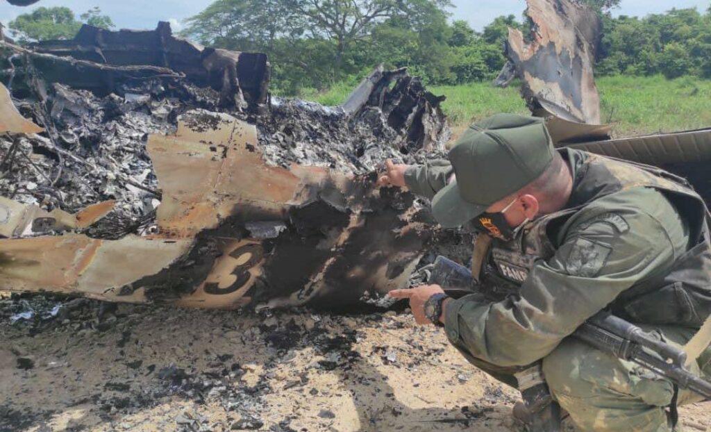 سرنگونی هواپیما آمریکایی در ونزوئلا