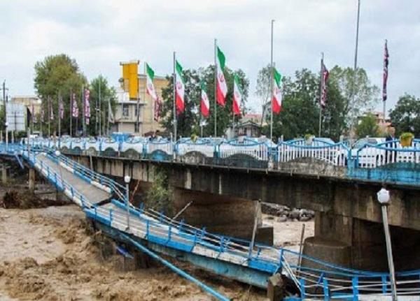 پل اصلی تالش در حال تخریب است | نیازمند امکانات لجستیک سپاه هستیم