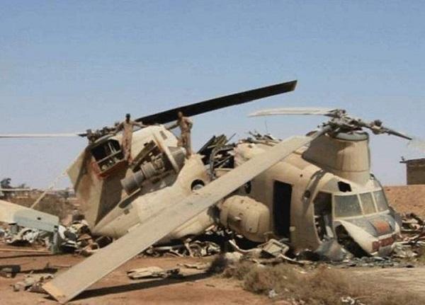 برخورد دو بالگرد ارتش افغانستان