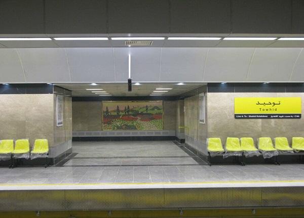 فوت سه کارگر در مترو تهران