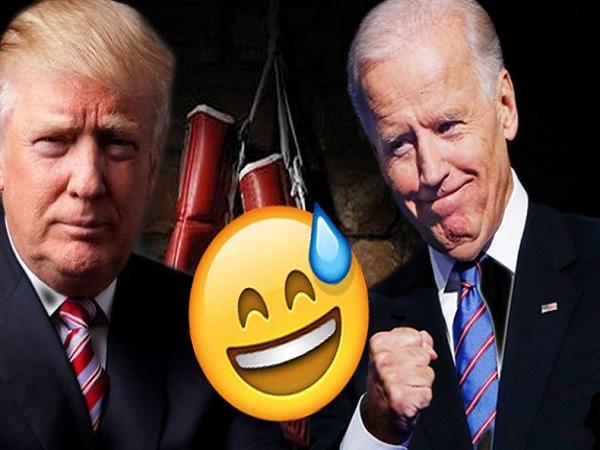 دوبله طنز مشهدی از مناظره ترامپ و بایدن و ماسک درون جیب ترامپ